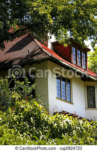 Beauitiful Historic Home - csp0824723
