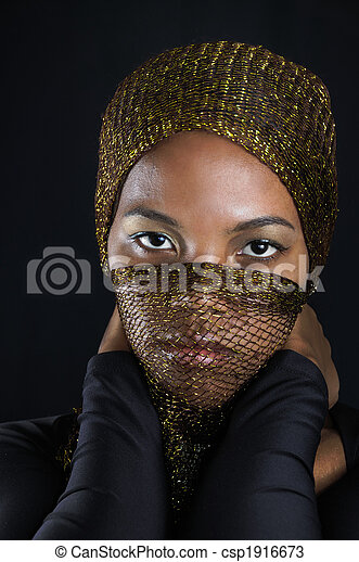 beauté, africaine - csp1916673