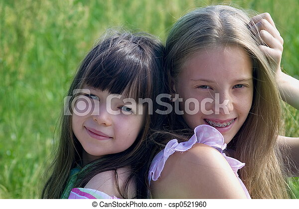Beauti girls - csp0521960