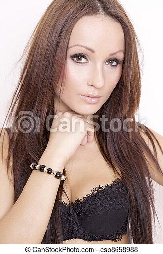 beautiful adult sensuality woman  - csp8658988