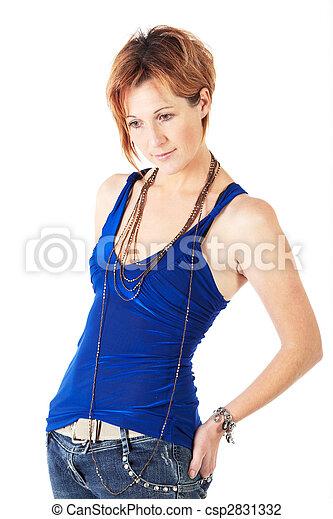 Beautiful adult woman - csp2831332