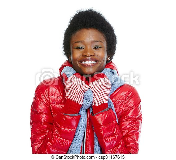 Beautiful African-american girl. - csp31167615