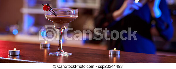 Beautiful and tasty cocktail  - csp28244493