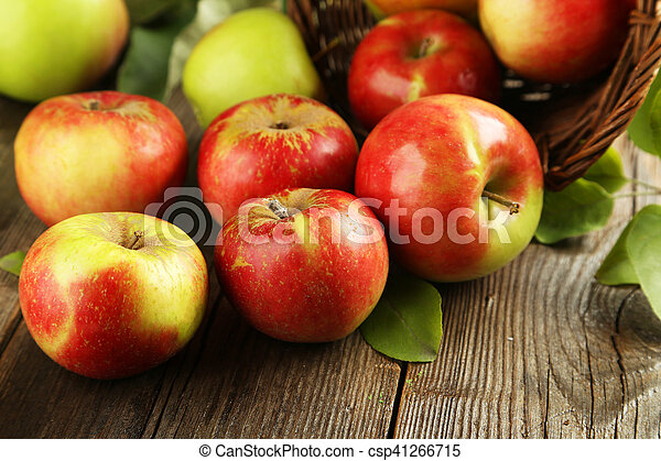 Beautiful apples - csp41266715