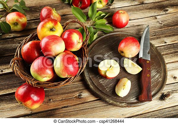 Beautiful apples - csp41268444