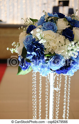 Beautiful Artificial Flower Decoration In Wedding
