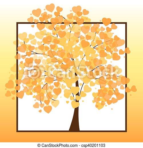 Beautiful autumn tree - csp40201103