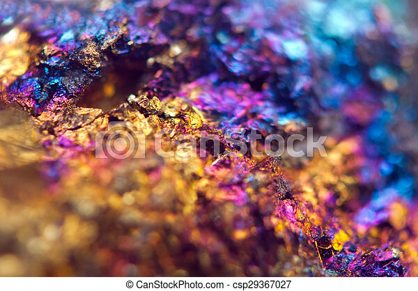 Beautiful background . Jewel ore. Macro. Extreme closeup - csp29367027