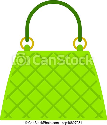 Beautiful bag icon isolated - csp46807981