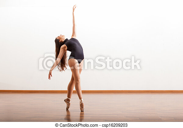 Beautiful ballet performance