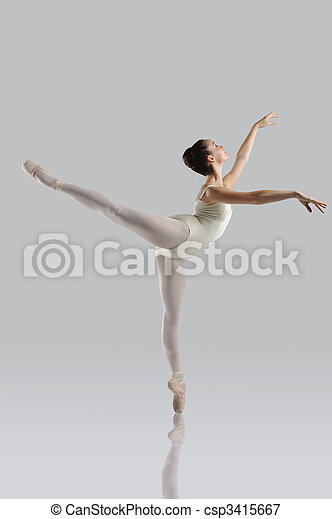 Beautiful ballet - csp3415667