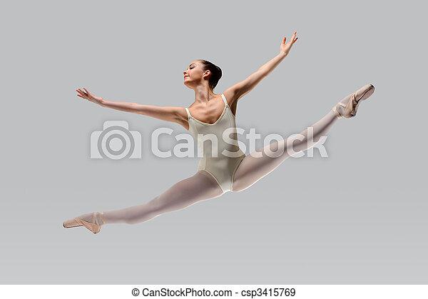 Beautiful ballet - csp3415769