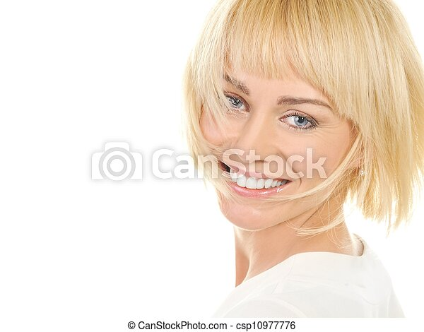 Beautiful blond woman  - csp10977776