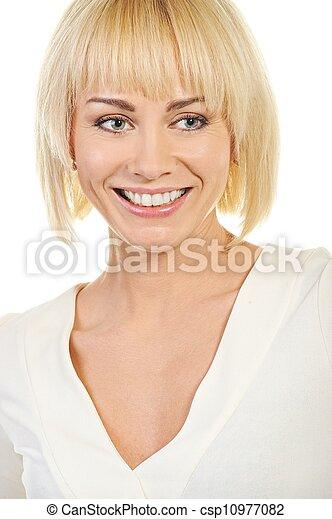 Beautiful blond woman  - csp10977082