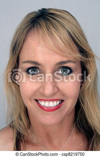 Beautiful Blonde Headshot (1) - csp8219750