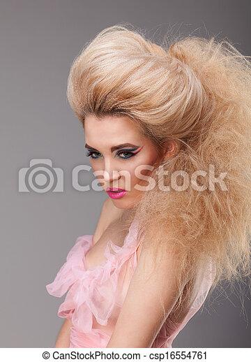 Beautiful blonde - csp16554761