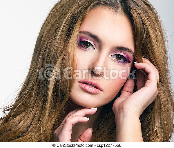 Beautiful blonde woman - csp12277556