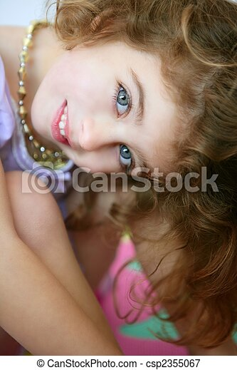 cute teen madchen, blaue augen