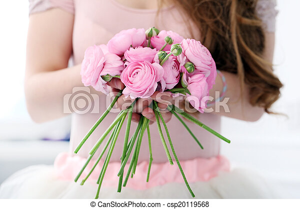 Beautiful bouquet on the table - csp20119568