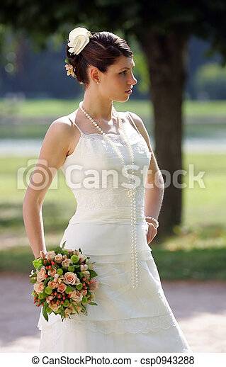Beautiful Bride - csp0943288