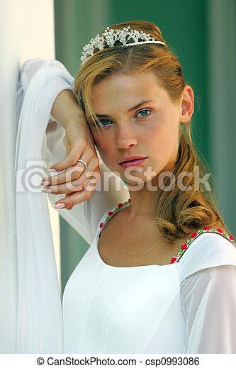 Beautiful bride - csp0993086