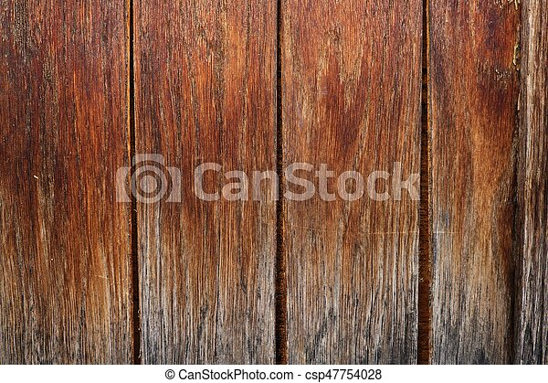 Beautiful brown wooden background - csp47754028