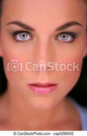 beautiful brunette - csp0296302