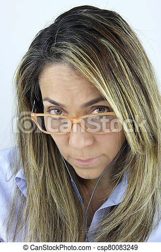 Beautiful business woman - csp80083249