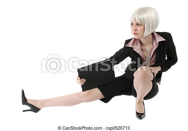 Beautiful Business Woman - csp0520713