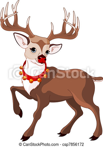 Reindeer Isolated Vector Clipart Eps Images 9 795 Reindeer Isolated