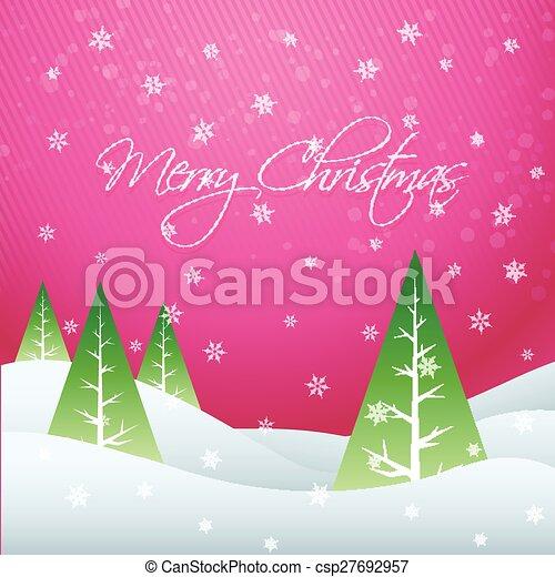 beautiful christmas design - csp27692957
