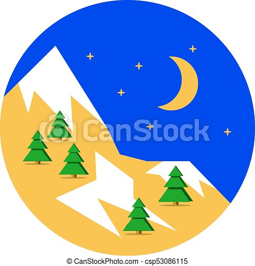beautiful christmas winter landscape background christmas vector rh canstockphoto ie winter vectors free download winter vector free