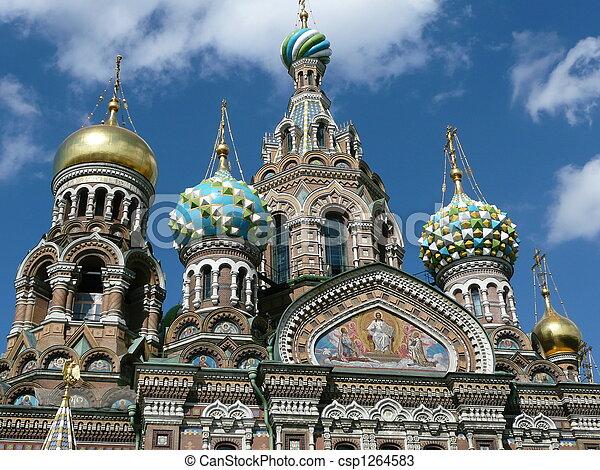 Beautiful church of Russia - csp1264583