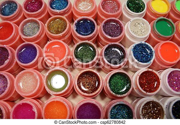 Beautiful Color Gel Lacquer - csp62780842