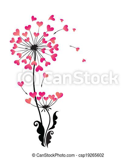 Beautiful dandelion - csp19265602