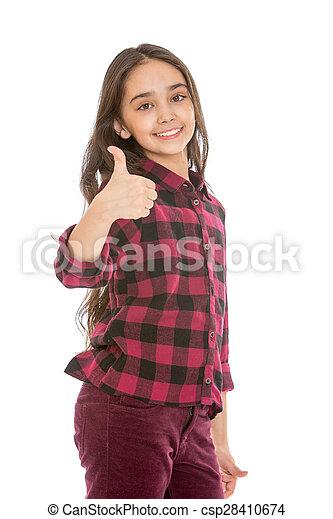 Beautiful dark haired teen