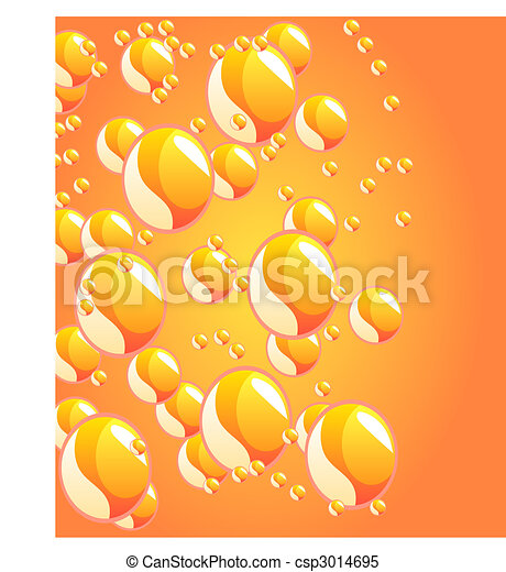beautiful decoration water drops  - csp3014695