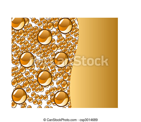 beautiful decoration water drops - csp3014689