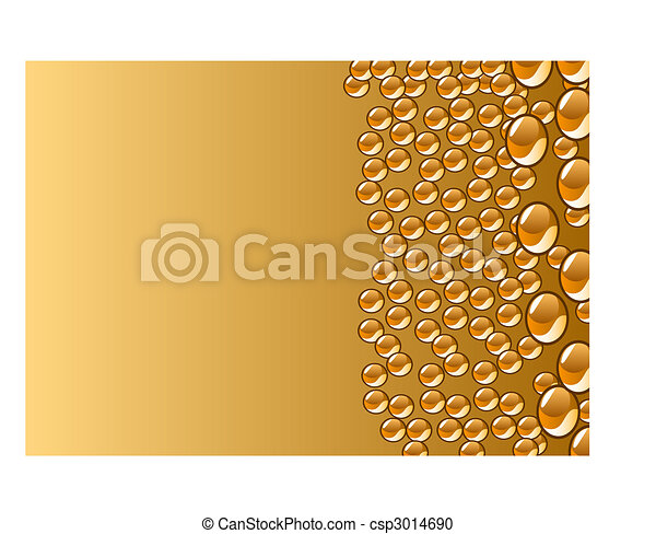 beautiful decoration water drops - csp3014690