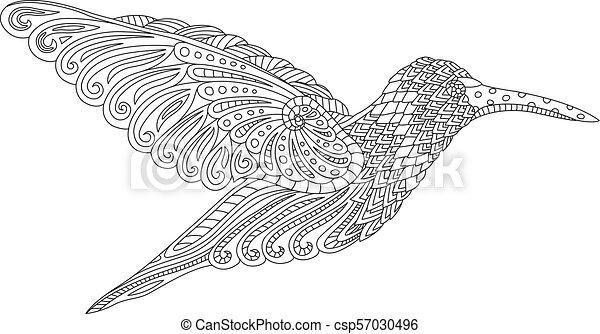 Beautiful decorative hummingbird