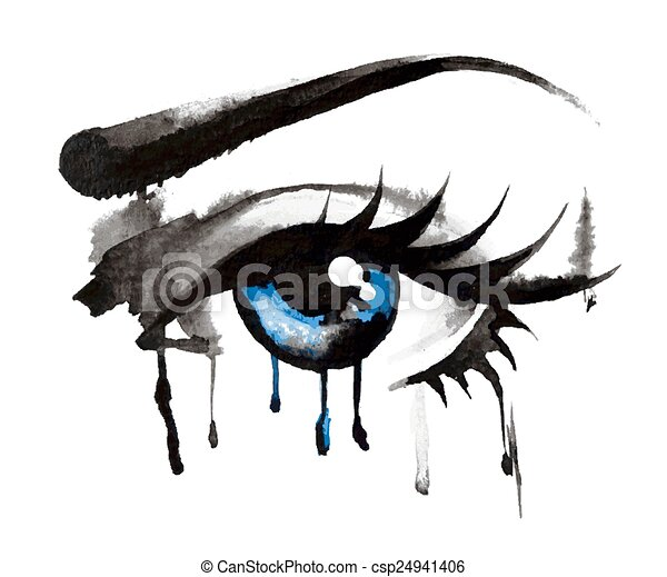 Beautiful Eyes Hand Drawn Eyes Hand Drawn