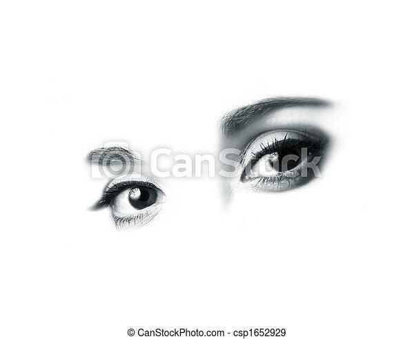 Beautiful eyes - csp1652929