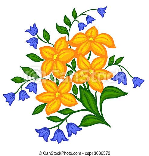 Flower Arrangement Illustrations 16 672 Professional Stock Clipart