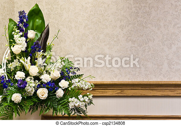 Beautiful Floral Arrangement - csp2134808