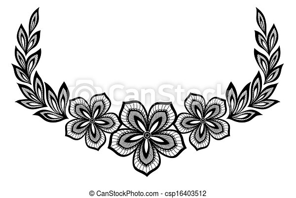 Beautiful floral pattern a design element in the old style many beautiful floral pattern a design element in the old style csp16403512 thecheapjerseys Choice Image