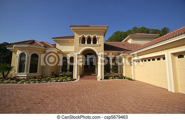 Beautiful Florida home - csp5679463