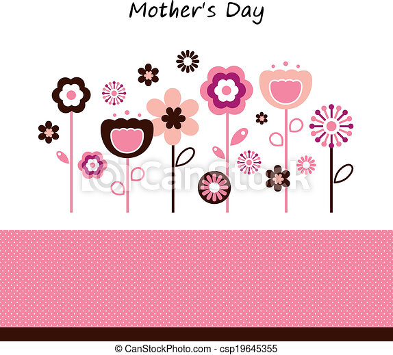 Beautiful flowers for Mother's Day celebration - csp19645355