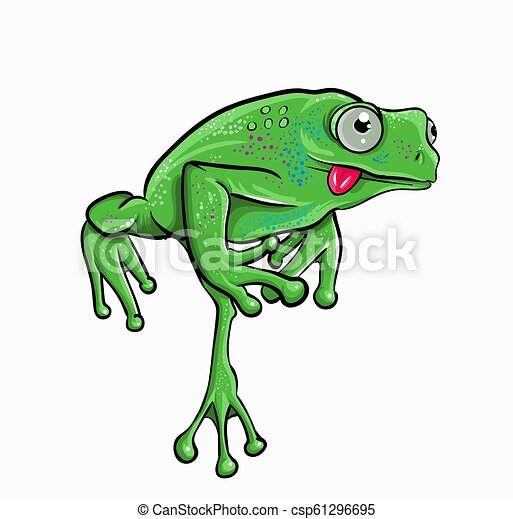 beautiful frog - csp61296695