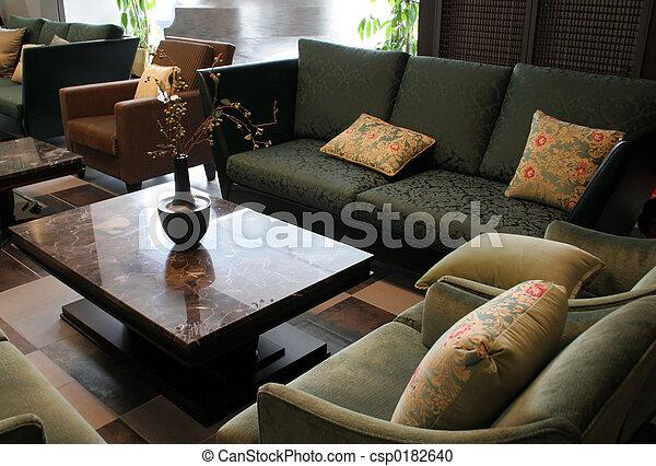 Beautiful furniture - csp0182640