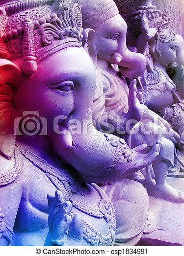 Beautiful Ganesha - csp1834991